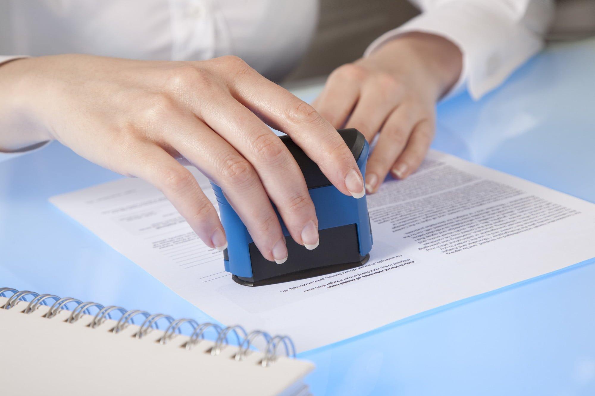 Notary Signature witness