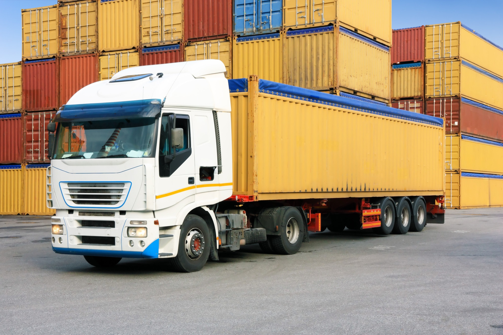 truck and containers shipping company