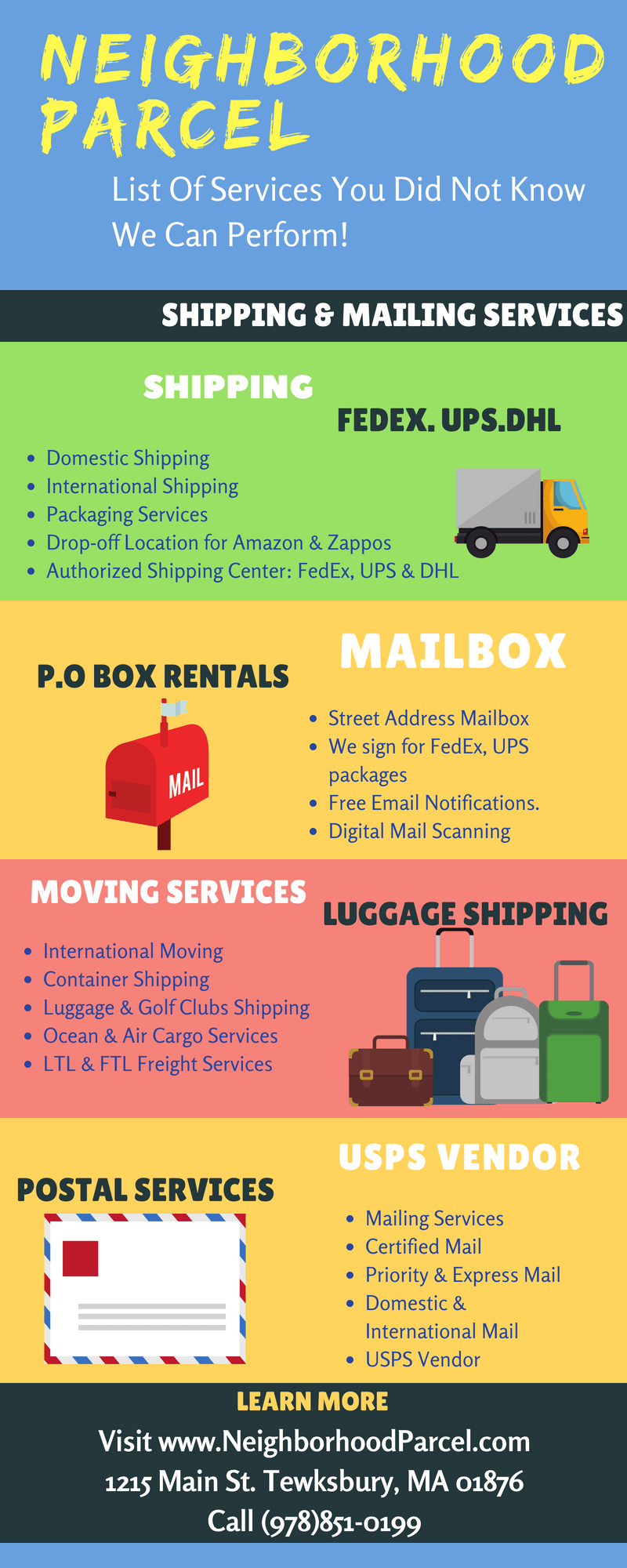 Our Services Shipping