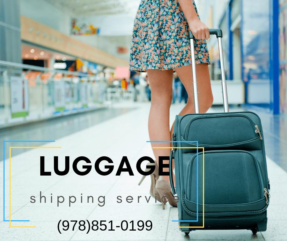 Boston Luggage shipping service